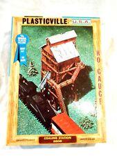 Plasticville HO Scale #2808 Coaling Station-Original Box