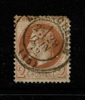 France SC# 30, Used, pulled corner perf - S1478