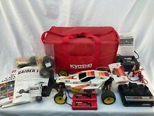 KYOSHO Raider Pro RC Car w/ Battery Charger Controller Manual & Tires Working