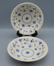 """2 Finlandia by Myott Staffordshire 6 3/8"""" Coupe Cereal Bowl Lot"""