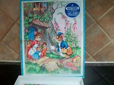 boxed victory wooden jigsaw puzzle no 7343 postman mouse delivers the mail lp3
