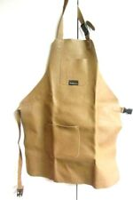 3 Pocket Leather Woodcarvers Woodworkers Chasers Gunsmith Bladesmith Apron