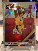 2019-20 Panini Donruss Optic LeBron James  Silver Prizm Holo #60 LA Lakers