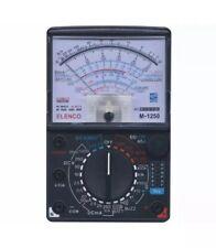 Elenco M-1250 Professional Multimeter And Transistor Diodes Battery Tester NIB