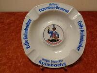 Porcelana Cenicero - Erste Kulmbacher Brauerei - Vintage