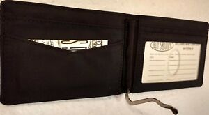 Authentic Big Skinny Acrobat Bi-fold Wallet in Black Nylon