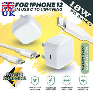 100% Genuine CE charger PD plug cable For iPhone 12 PRO MAX Iphone 11 Apple IPAD