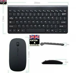 Mini Wireless Keyboard And Mouse (A565)