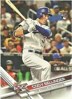 2017 Topps Update #US38 Cody Bellinger Rookie Card Los Angeles Dodgers