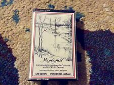 Winterfall Lee Spears Donna Beck Michael Cassette 1987 VG Christmas Instrumental