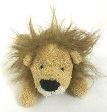 "Russ Home Buddies Zulu Tan Plush Terry Cloth Lion Stuffed Animal 7"" Bean Bag"