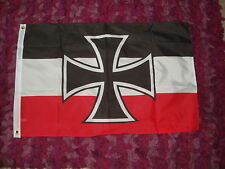 German Iron Cross Imperial Navy Flag 2x3 Naval 2nd reich WW1 Deutsche Military