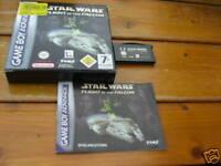 Star Wars Flight of the Falcon GBA Spiel komplett mit OVP und Anleitung