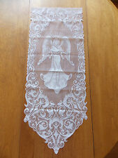 HERITAGE LACE WHITE ANGEL WALL BANNER 12W BY 30L AWESOME ITEM 4006
