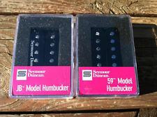 Seymour Duncan SH-4 JB Bridge & SH-1 59  Neck BLACK Humbucker Pickup Set - NEW