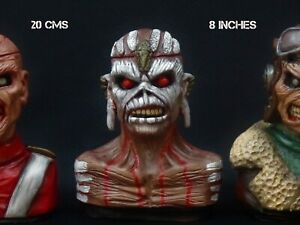 Eddie Iron Maiden .The Book of Souls, Figure Handmade unique 20cms 8 inches!