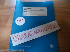 1995 VW Passat Maintenance Repair Service Manual