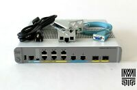Cisco WS-C3560CX-8XPD-S 3560-CX Switch 6 GE PoE+ 2 MultiGE PoE+ 2x10G SFP+ Ports