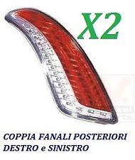 COPPIA FANALI FANALINO STOP POSTERIORE SX DX LANCIA DELTA DAL 2008 IN POI A LED