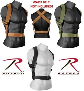 Rothco Combat Suspenders Tactical Suspenders (Belt sold separately) 49194 49195
