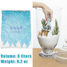 Ericraft Artificial Snow 8 Litres 270ml Plastic Snow for Decoration and