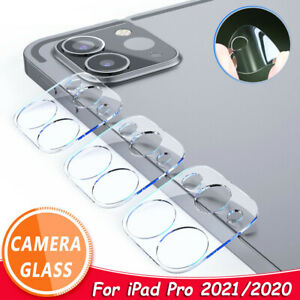For iPad Pro 11/12.9 2021 2020 Camera Lens Protector Tempered Glass Film Cover