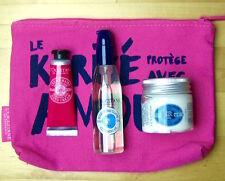 L'OCCITANE kleine Karite Shea-Butter Geschenkset/Reiseset mit Kosmetiktasche