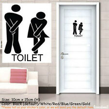 Funny Toilet Decal Sticker For Shop Office Home Cafe Hotel Best Gift