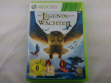 Die Legende der Wächter Microsoft Xbox 360 2010 DVD Box PAL Spiel Game