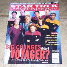 STAR TREK COMMUNICATOR MAGAZINE #130, DECIPHER PUBLICATIONS 2000 OCT/NOV