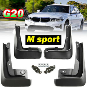 For BMW 3 Series G20 G21 M sport 2019 2020 CAR Mud Flaps Splash Guards Mudguards