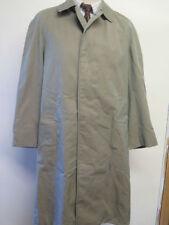 Aquascutum Button Cotton Raincoats for Men