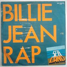"Land And Sea – Billie Jean Rap -  Vinyl, 12"", 45 RPM - Germany - 1987 - Hip Hop"