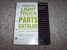 2008 Ford Explorer Sport Trac Parts Catalog Manual XLT Limited