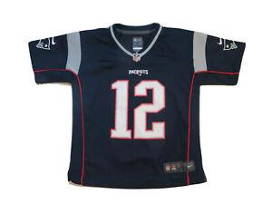 Nike Tom Brady New England Patriots On Field Jersey sz YOUTH L LARGE NFL