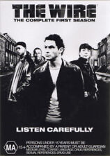 THE WIRE :Complete First Season 1 (DVD, 5 Disc) OVER 13 HOURS !! Drug Crime Show