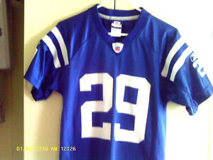 Indianapolis Colts reebok Jersey (Joseph Addai #29) Boys Sz-Medium (10-12)