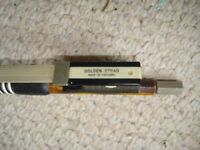 Antique Violin Bow - Golden Strad (English)