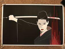 Kill Bill O-Ren Oren Ishii Hanzo'D Movie Art Print Poster Mondo Craig Drake Rare