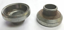 NOS PAIR OF OEM HARLEY DAVIDSON FRAME NECK CUPS W/ RACES SPORTSTER HD # 17007-59