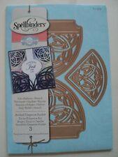 SPELLBINDERS AMAZING PAPER GRACE ARCHED ELEGANCE POCKET (3 DIES) S4-503 BNIP