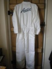 REPRODUCTION RETRO AUSTIN EMBROIDERED COTTON OVERALLS-M, L, XL