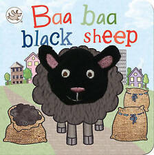 Baa Baa Black Sheep (Little Learners Finger Puppet),  | Hardcover Book | Accepta