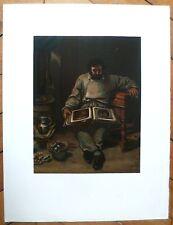 Gustave Courbet Lithographie velin d'Arches Mourlot Marc Trapadoux Levy