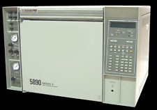 HP 5890 Gas chromatograph basic unit with single injector and single detector