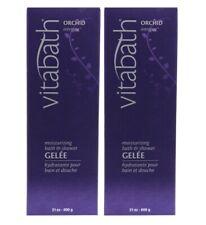 Vitabath Orchid Intrigue Moisturizing Bath & Shower Gelee  21 oz - Pack of 2