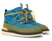 $230 Suicoke Aimé Leon Dore Hobbs Faux Shearling-Lined CORDURA and PU Boots US 7