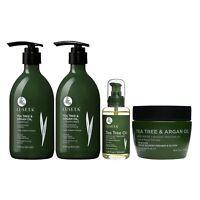 Luseta Tea Tree & Argan Oil Hair Care Set Natural Sulfate Free Formula