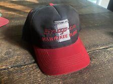VINTAGE SNAP ON TOOLS Snapback Trucker Hats Racing #1 milwaukee plant wisconsin