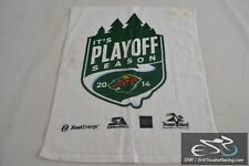 "Minnesota Wild Hockey NHL 2014 Playoff Season 18x14"" Rally Towel"